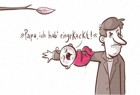 Papa ich hab´eingekackt Seite 8